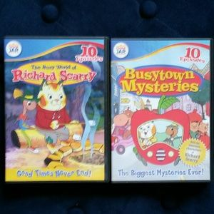 Other - 2 pack Richard Scarry BustTown dvds GUC